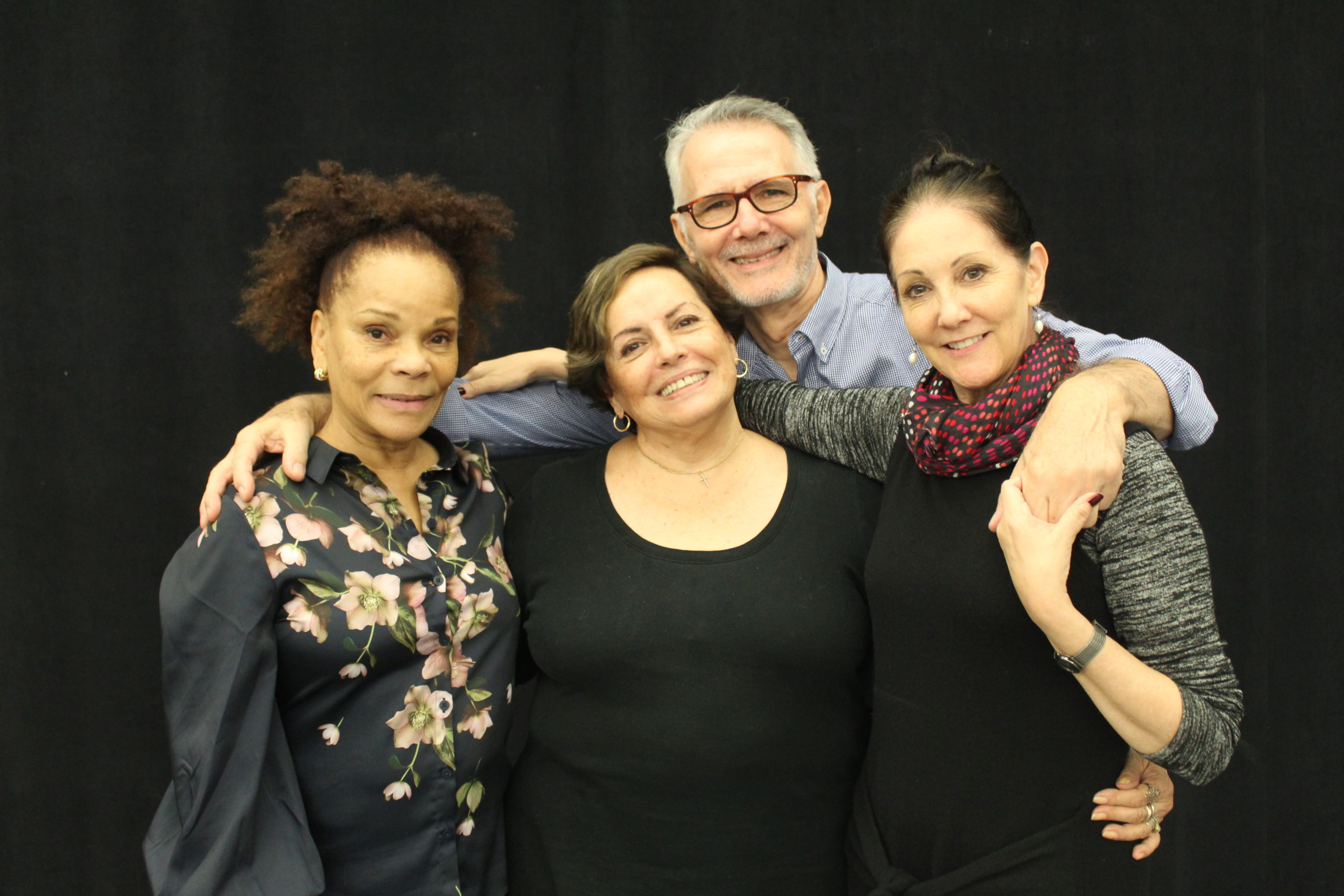 Caridad Martinez, Laura Alonso, Rodolfo Castellanos Cardoso and Cynthia Harvey. Photo by Emilia Stuart.
