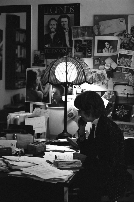 Florence Pettan at work.