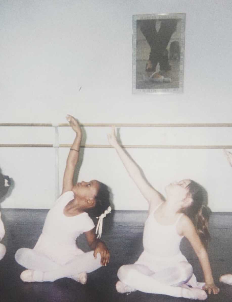 Annellyse Munroe as a child in one of her first ballet classes.