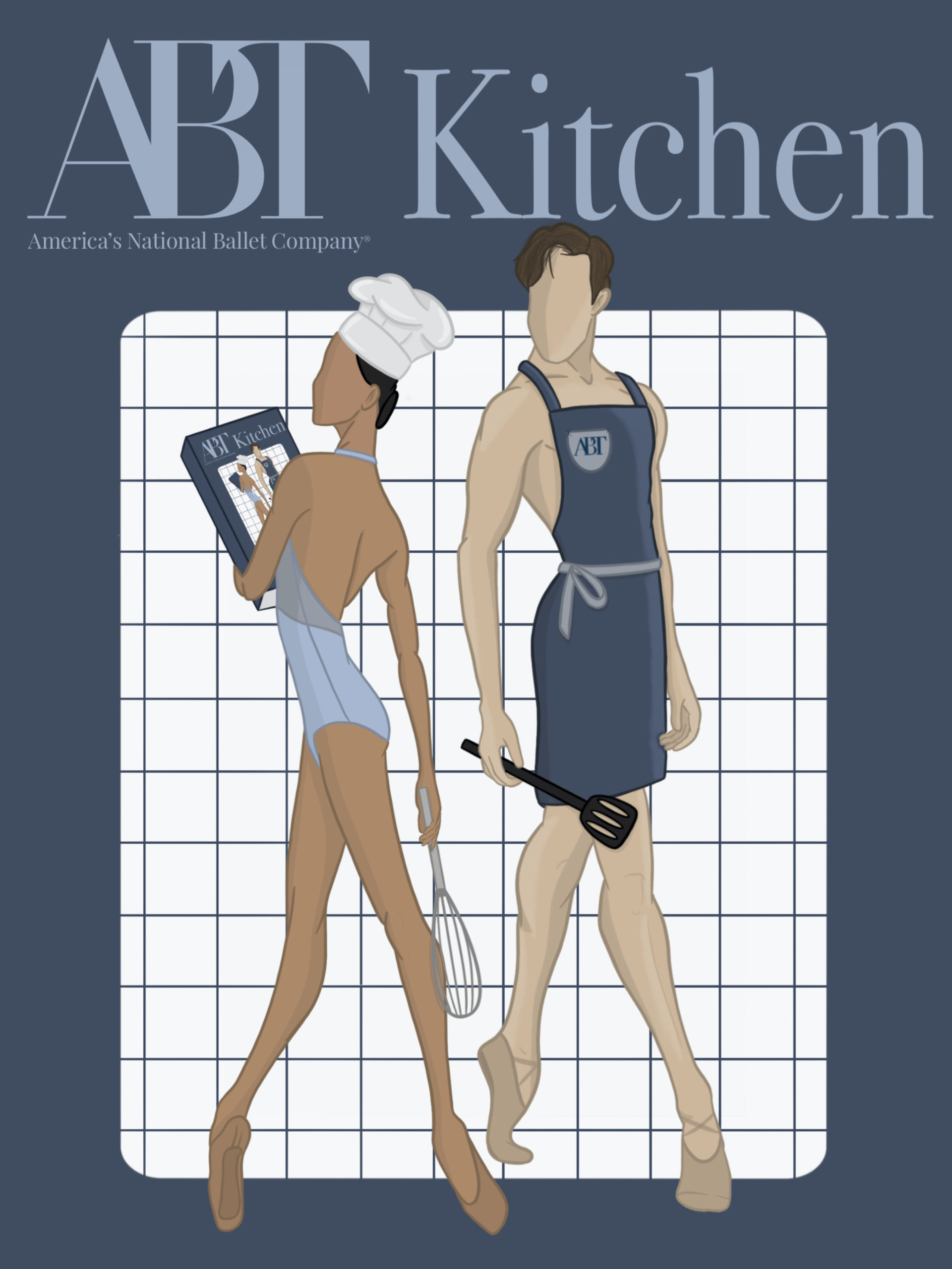 <i>ABT Kitchen</i> cover artwork by Javier Rivet.