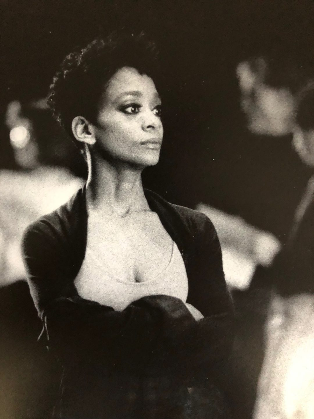 Shelley Washington at a tech rehearsal for Twyla Tharp's <i>Brief Fling</i>. Photo courtesy Washington.