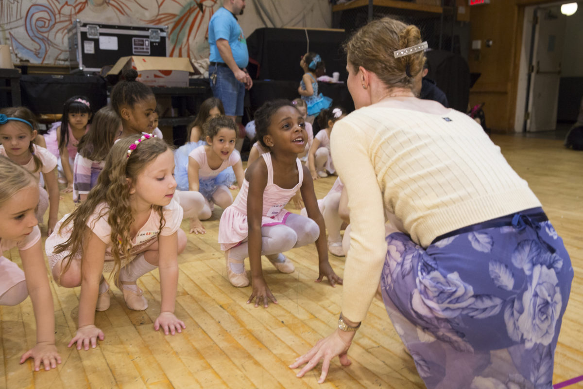 Dennis creates unique ballet experiences for children such as our annual <i>ABTKids</i> performance and workshop.