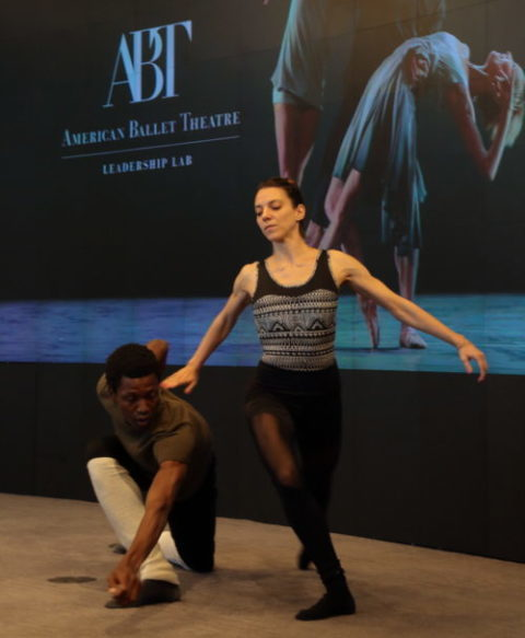 Dancers partner and work toward a shared goal — the performance.