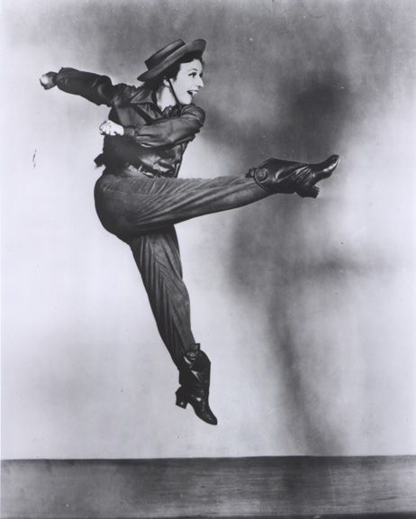 Agnes de Mille in <i>Rodeo</i>. Photo: Maurice Seymour.