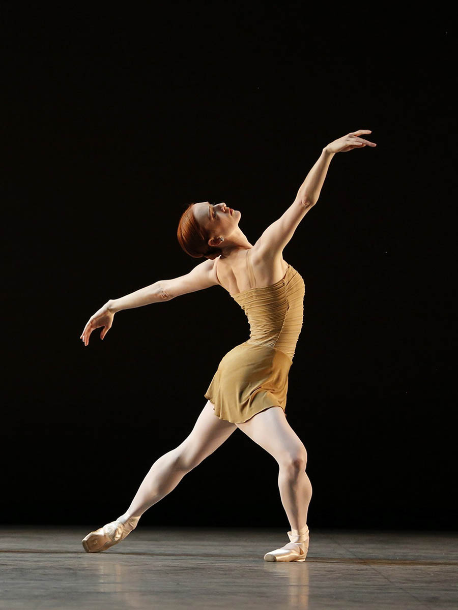 Gillian Murphy in <i>The Brahms-Haydn Variations</i>. Photo: Marty Sohl.