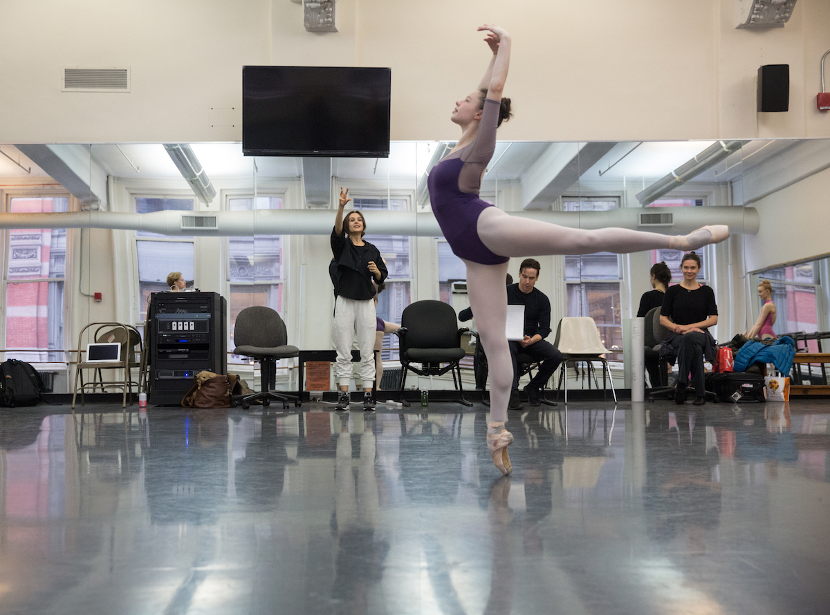 Lauren Lovette working with ABT Studio Company